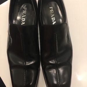 Prada evening/patent leather men's shoes